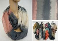 Extra-Wide Light Weight Infinity Scarf [Color Fade]